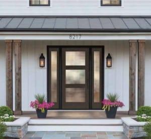 Fiberglass entry doors